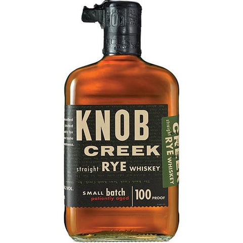 Knob Creek Straight Rye Whiskey - De Wine Spot | Curated Whiskey, Small-Batch Wines and Sakes