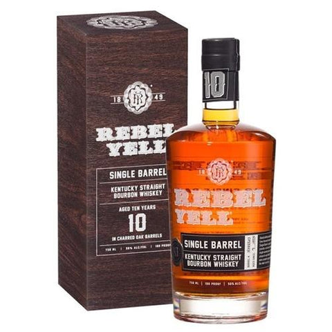 Rebel Yell 10 Years Single Barrel Kentucky Straight Bourbon Whiskey - De Wine Spot | Curated Whiskey, Small-Batch Wines and Sakes