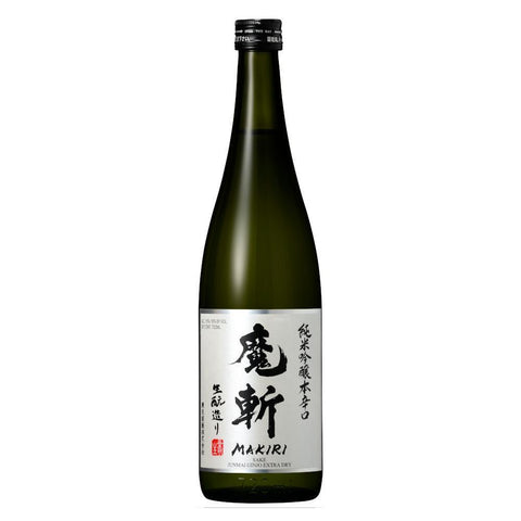 Makiri Junmai Ginjo Extra Dry Sake - De Wine Spot | Curated Whiskey, Small-Batch Wines and Sakes