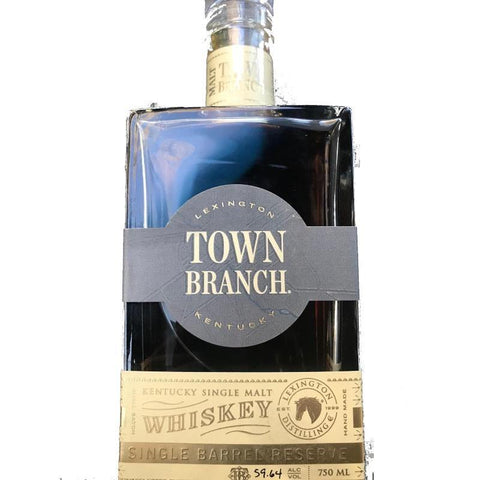 Town Branch Single Barrel Reserve Kentucky Single Malt Whiskey - De Wine Spot | Curated Whiskey, Small-Batch Wines and Sakes