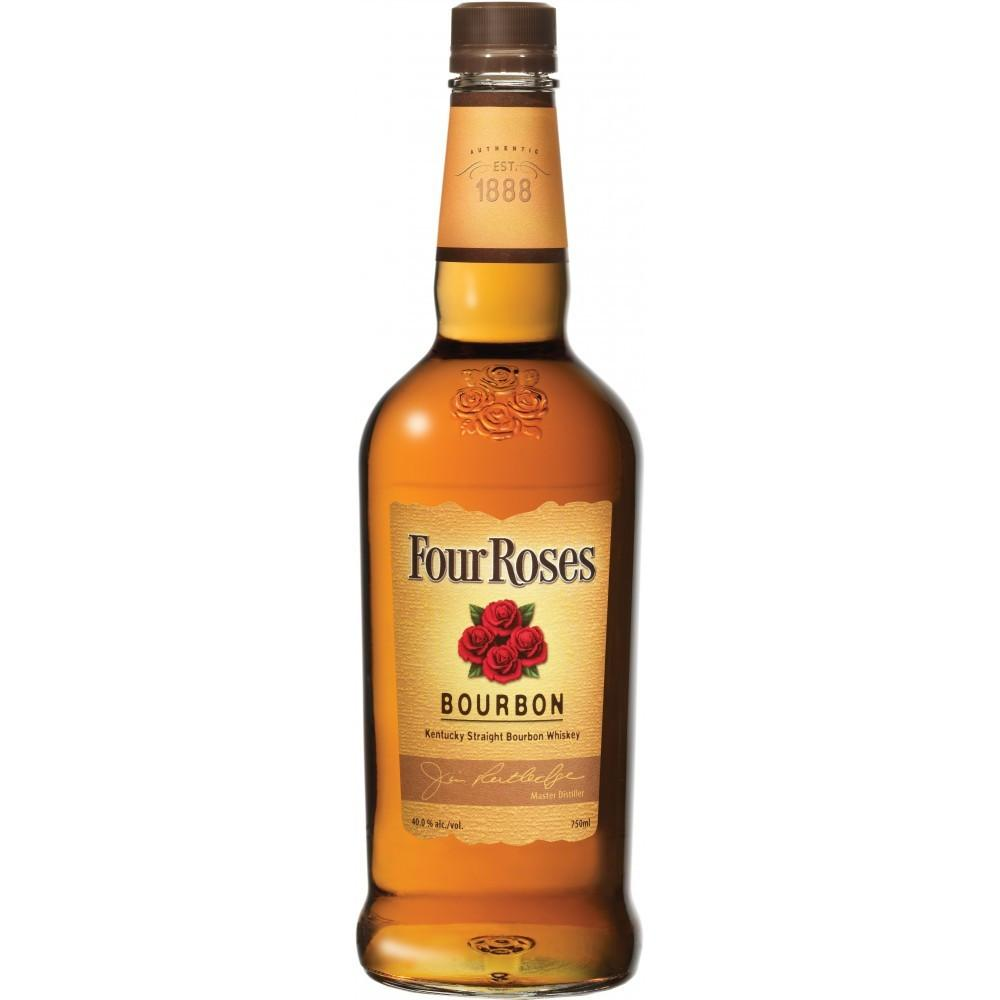 Four Roses Yellow Label Kentucky Straight Bourbon Whiskey - De Wine Spot | Curated Whiskey, Small-Batch Wines and Sakes