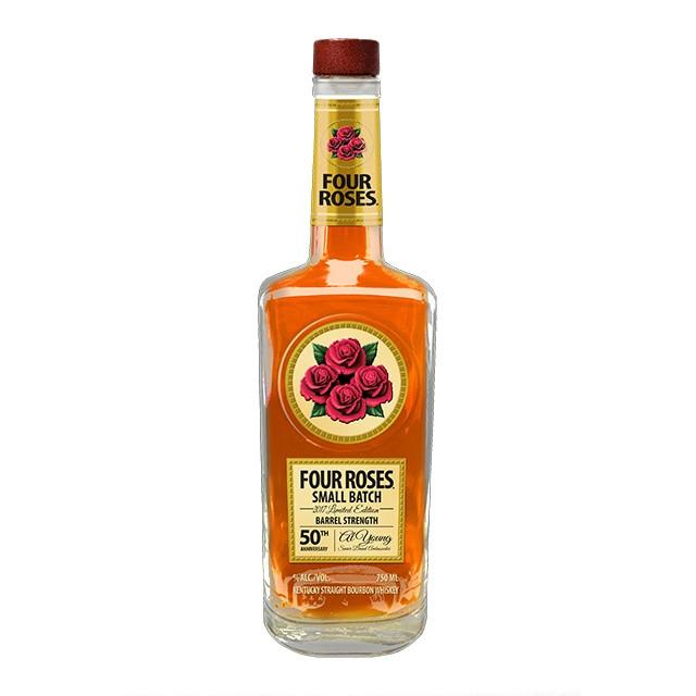 Four Roses 2017 Small Batch Limited Edition Al Young's 50th Anniversary | De Wine Spot - Curated Whiskey, Small-Batch Wines and Sakes