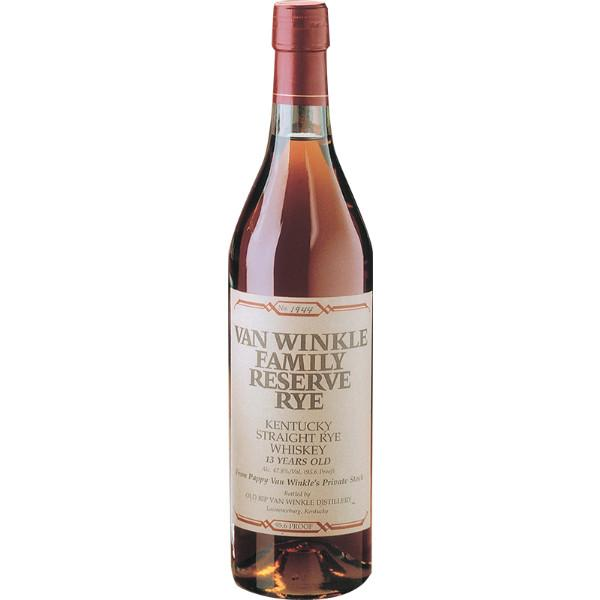 Old Rip Van Winkle Family Reserve 13 Year Rye - De Wine Spot | Curated Whiskey, Small-Batch Wines and Sakes