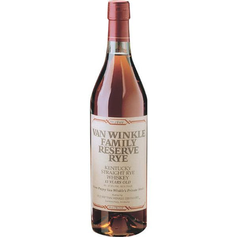 Old Rip Van Winkle Family Reserve 13 Year Rye | De Wine Spot - Curated Whiskey, Small-Batch Wines and Sakes