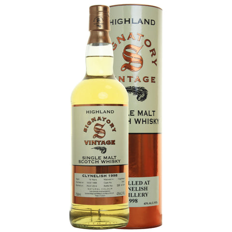 Clynelish Hogshead 16 yrs Highland 86 Proof Signatory Single Malt Scotch Whisky - De Wine Spot | Curated Whiskey, Small-Batch Wines and Sakes