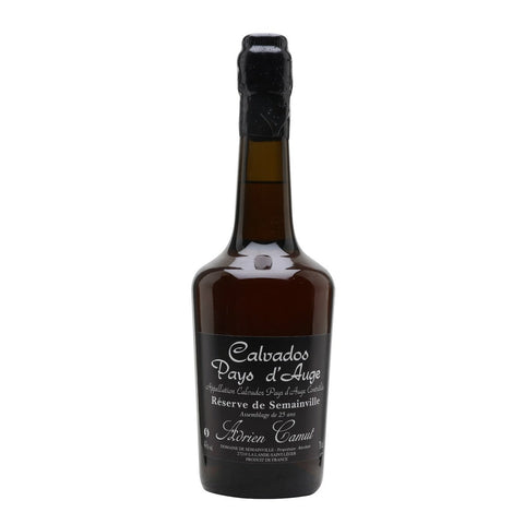 "Adrien Camut Calvados 25 Year Old ""Reserve De Semainville"""