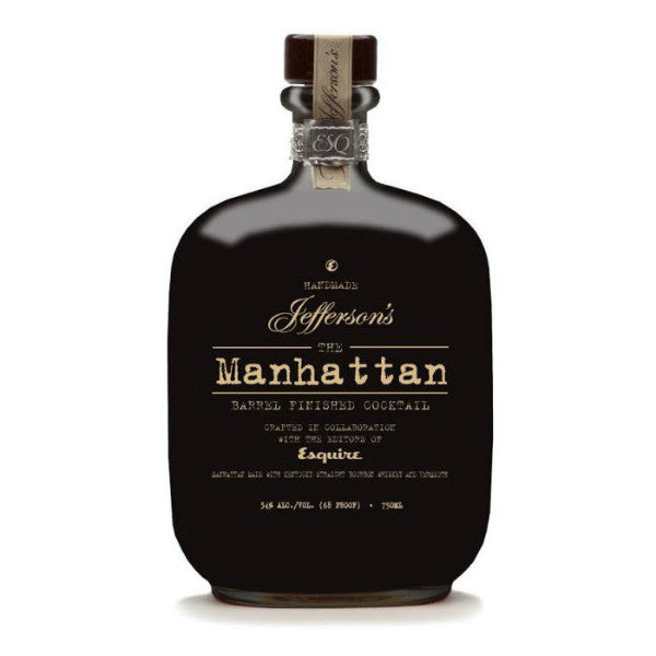 Jefferson's The Manhattan Barrel Finished Cocktail - De Wine Spot | Curated Whiskey, Small-Batch Wines and Sakes