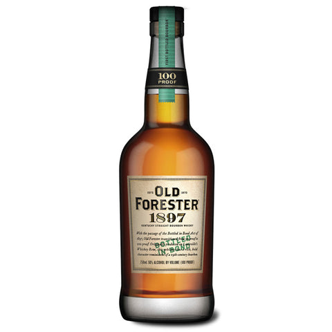 Old Forester 1897 Bottled in Bond Bourbon | De Wine Spot - Curated Whiskey, Small-Batch Wines and Sakes