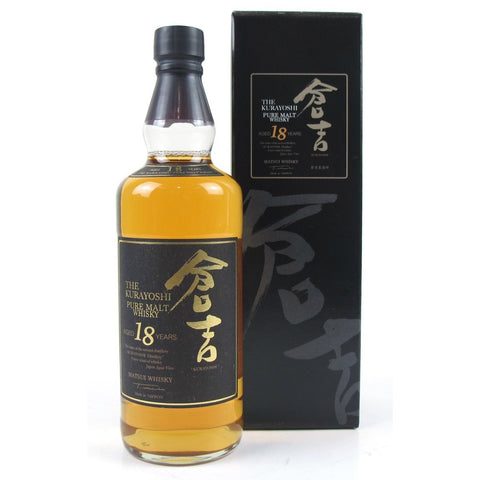 Kurayoshi Pure Malt 18 Year Old Whisky - De Wine Spot | Curated Whiskey, Small-Batch Wines and Sakes