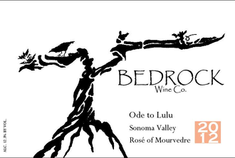 Bedrock Wine Company Ode to Lulu Sonoma Valley Mourvedre Rose - De Wine Spot | DWS - Drams/Whiskey, Wines, Sake