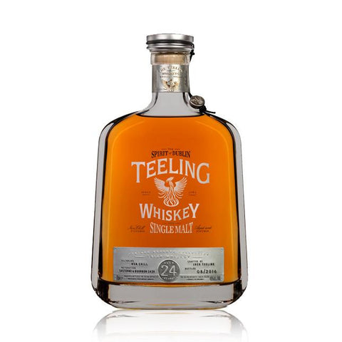 Teeling 24 Year Old Single Malt Irish Whiskey - De Wine Spot | Curated Whiskey, Small-Batch Wines and Sakes