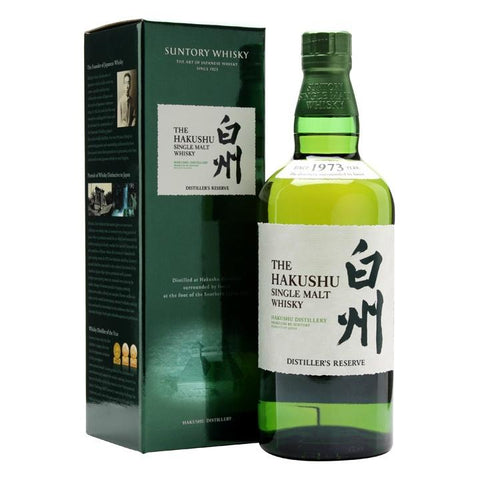 Hakushu Distiller's Reserve Single Malt Japanese Whisky - De Wine Spot | Curated Whiskey, Small-Batch Wines and Sakes