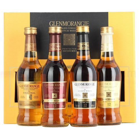 Glenmorangie Highland Single Malt Scotch Whisky Taster Gift Pack - De Wine Spot | Curated Whiskey, Small-Batch Wines and Sakes
