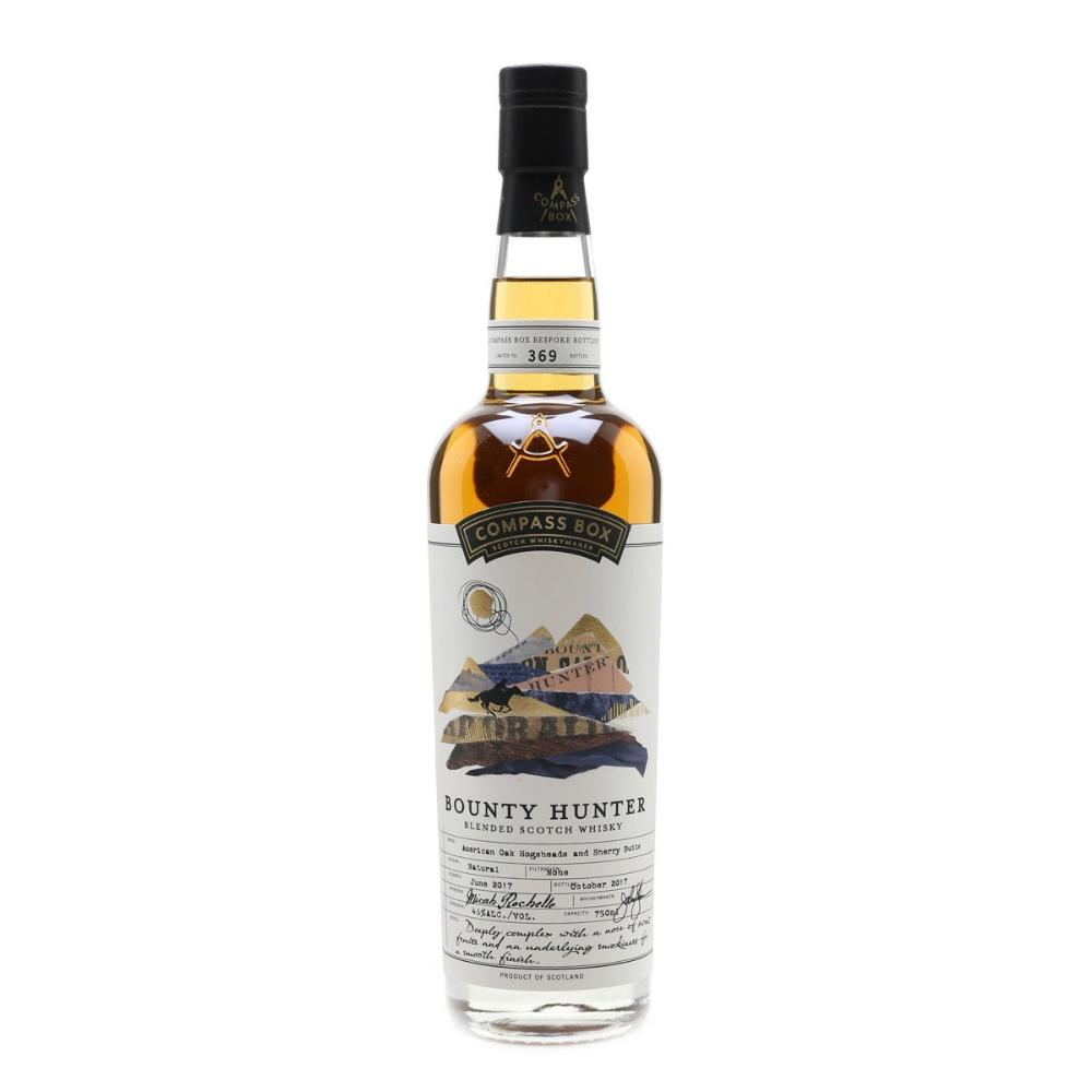 Compass Box The Bounty Hunter Blended Malt Scotch Whisky - De Wine Spot | Curated Whiskey, Small-Batch Wines and Sakes