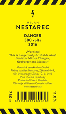Milan Nestarec Danger 380 Volts - De Wine Spot | Curated Whiskey, Small-Batch Wines and Sakes