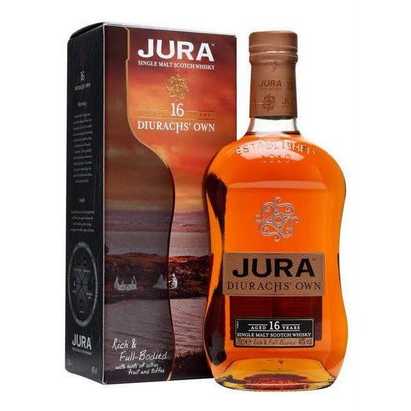 Isle of Jura 16 Year Old Single Malt Scotch Whisky - De Wine Spot | Curated Whiskey, Small-Batch Wines and Sake Collection