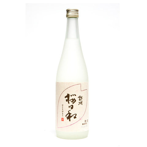 Esshu Sakura Biyori Ginjo Sake | De Wine Spot - Curated Whiskey, Small-Batch Wines and Sakes