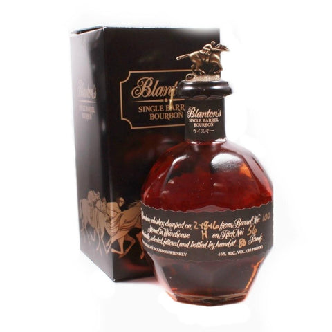 Blanton's Black Edition Bourbon - De Wine Spot | Curated Whiskey, Small-Batch Wines and Sakes