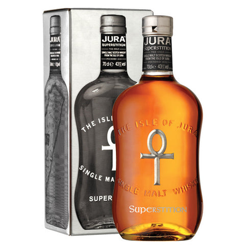 Isle of Jura Superstition Single Malt Scotch Whisky - De Wine Spot | Curated Whiskey, Small-Batch Wines and Sake Collection