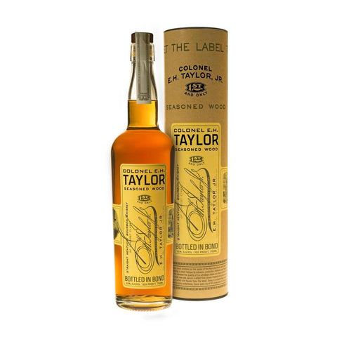 The Colonel E.H. Taylor Seasoned Wood Straight Kentucky Bourbon Whiskey | De Wine Spot - Curated Whiskey, Small-Batch Wines and Sakes