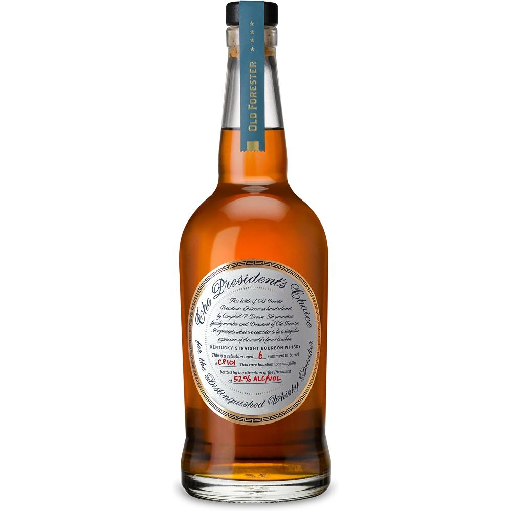 Old Forester The President's Choice Kentucky Straight Bourbon Whiskey - De Wine Spot | Curated Whiskey, Small-Batch Wines and Sakes