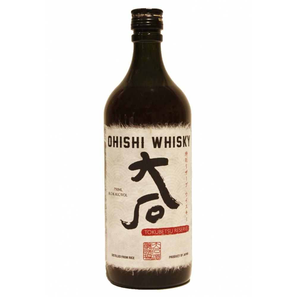 Ohishi Tokubetsu Reserve Whisky - De Wine Spot | Curated Whiskey, Small-Batch Wines and Sakes