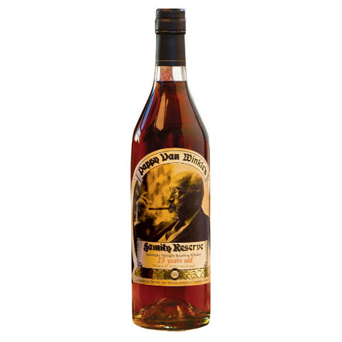 Old Rip Van Winkle Bourbon Family Reserve 15 Year Old Pappy Van Winkle | De Wine Spot - Curated Whiskey, Small-Batch Wines and Sakes