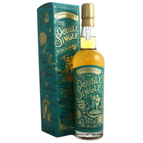 Compass Box The Double Single Blended Scotch Whisky - De Wine Spot | Curated Whiskey, Small-Batch Wines and Sakes