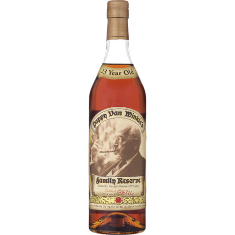 Old Rip Van Winkle Bourbon Family Reserve 23 Year Old Pappy Van Winkle | De Wine Spot - Curated Whiskey, Small-Batch Wines and Sakes