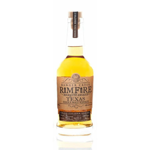 Ranger Creek Brewing & Distilling Rimfire Mesquite Smoked Texas Single Malt Whiskey - De Wine Spot | Curated Whiskey, Small-Batch Wines and Sakes