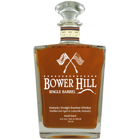 Bower Hill Barrel Reserve Kentucky Straight Bourbon Whiskey - De Wine Spot | Curated Whiskey, Small-Batch Wines and Sakes