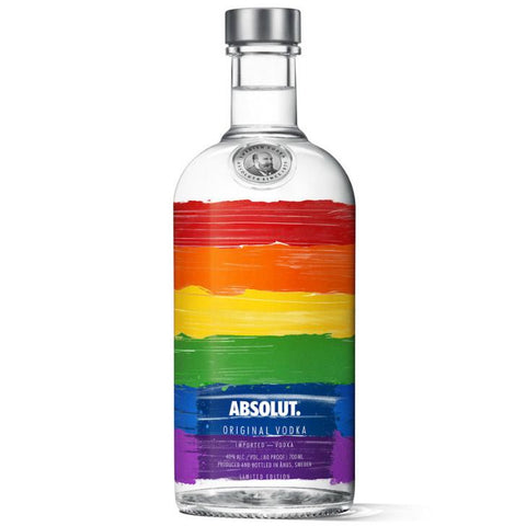 "Absolut Vodka ""Colors"" Limited Edition - De Wine Spot 