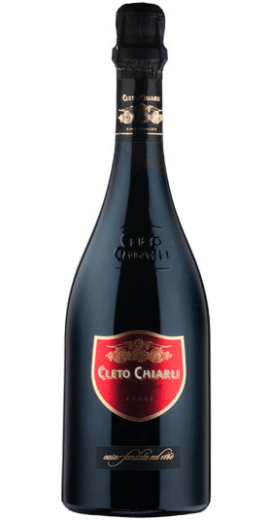 Cleto Chiarli Pruno Nero Lambrusco Grasparossa di Castelvetro - De Wine Spot | Curated Whiskey, Small-Batch Wines and Sakes