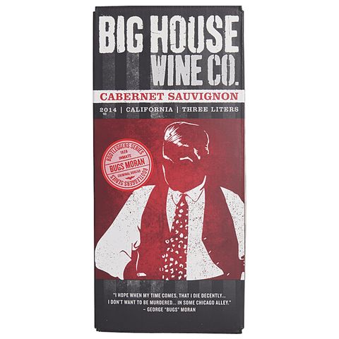 Big House Wine Company Cabernet Sauvignon Bugs Moran - De Wine Spot | Curated Whiskey, Small-Batch Wines and Sakes