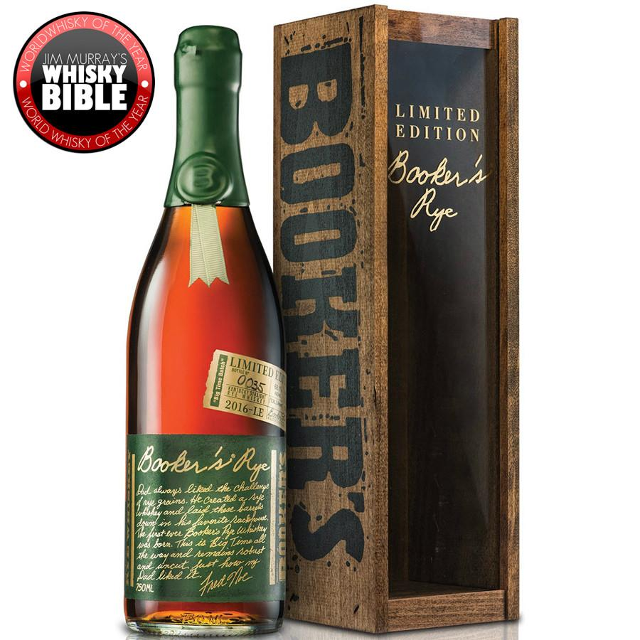 "Booker's Rye Limited Edition ""Big Time"" Batch - De Wine Spot 