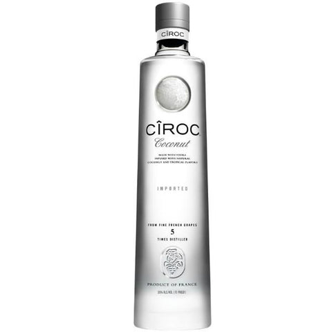 Ciroc Coconut Vodka - De Wine Spot | Curated Whiskey, Small-Batch Wines and Sakes