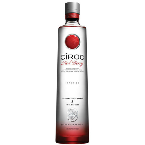 Ciroc Red Berry Vodka - De Wine Spot | Curated Whiskey, Small-Batch Wines and Sakes