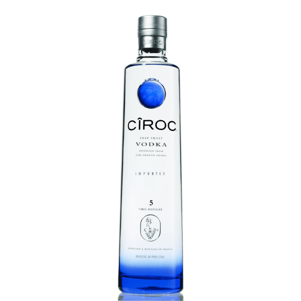 Ciroc Vodka - De Wine Spot | Curated Whiskey, Small-Batch Wines and Sakes