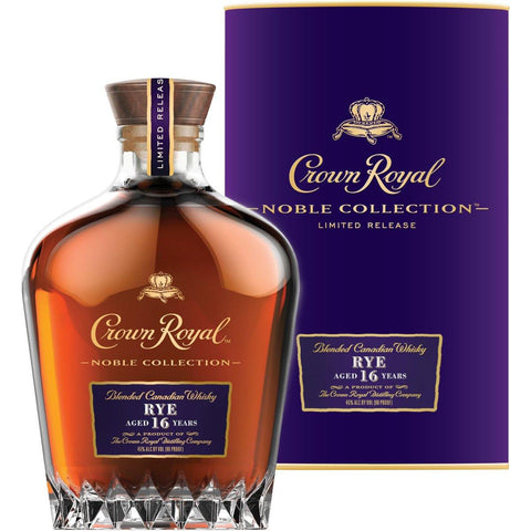 Crown Royal Canadian Whisky Nobel Collection 16 Year Rye - De Wine Spot | Curated Whiskey, Small-Batch Wines and Sakes