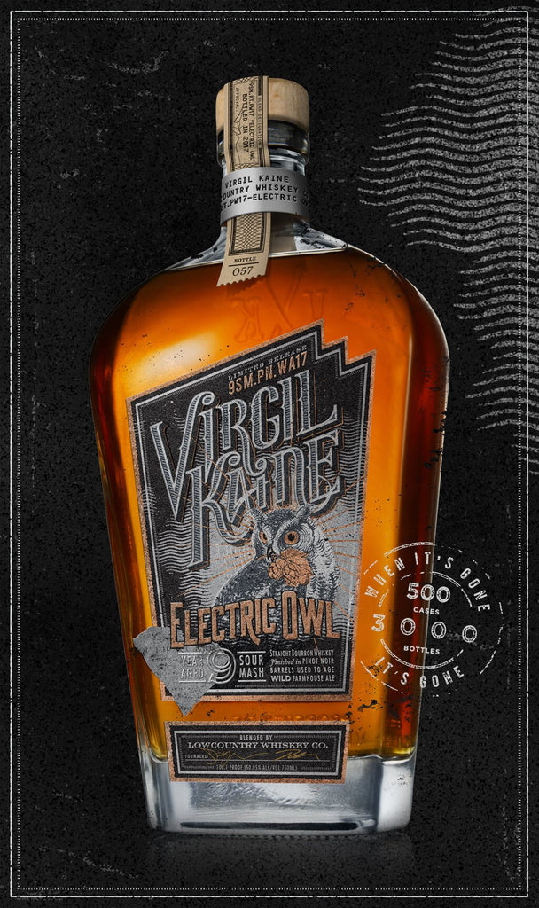 Virgil Kaine Electric Owl Bourbon Whiskey - De Wine Spot | Curated Whiskey, Small-Batch Wines and Sakes
