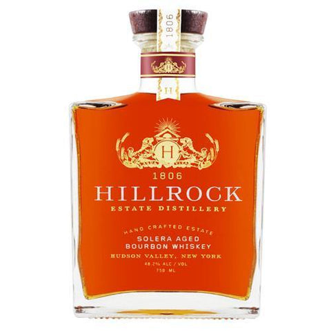 Hillrock Estate Distillery Solera Aged Bourbon Whiskey - De Wine Spot | Curated Whiskey, Small-Batch Wines and Sakes