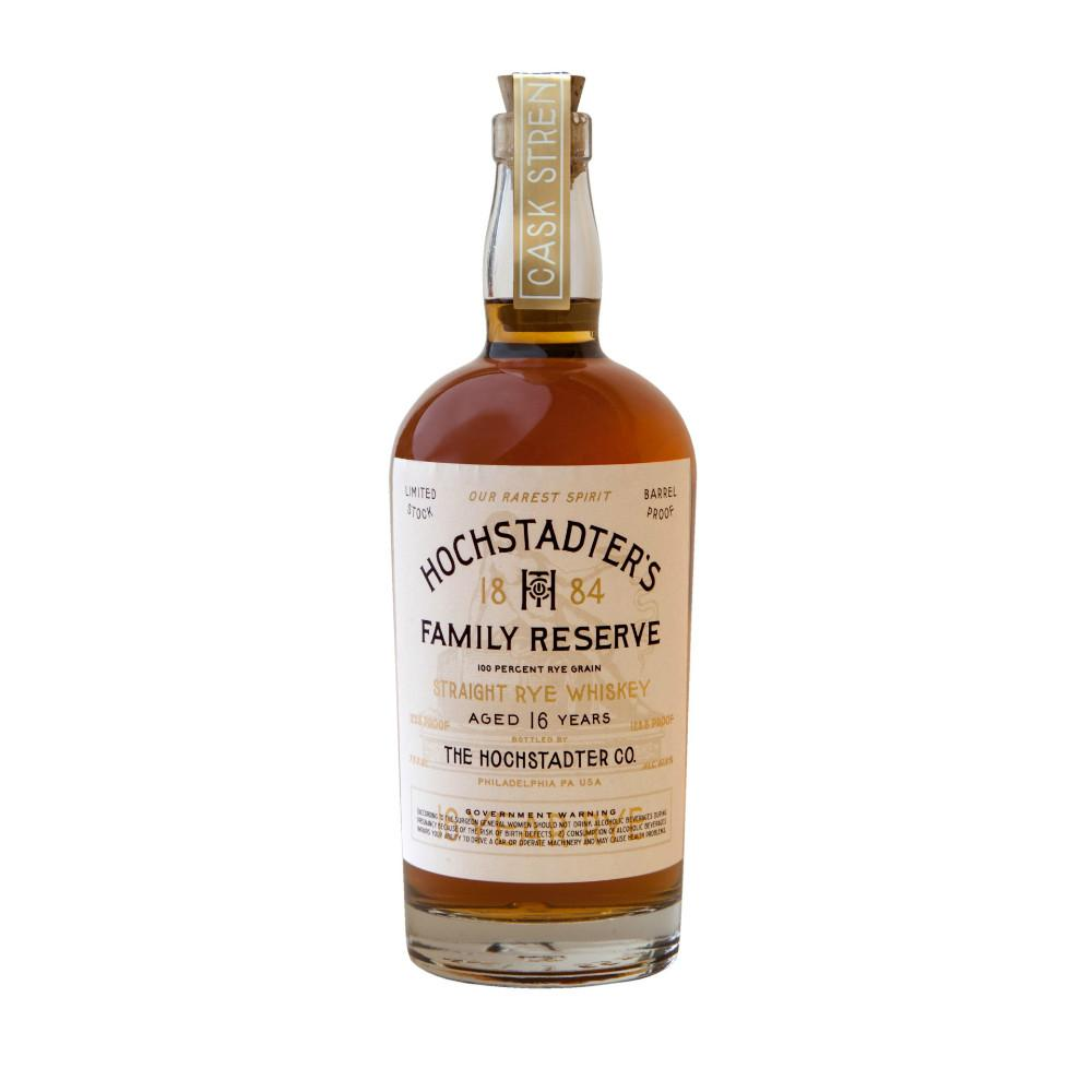 Hochstadter's 1884 Family Reserve 16 Years Aged Straight Rye Whiskey - De Wine Spot | Curated Whiskey, Small-Batch Wines and Sakes