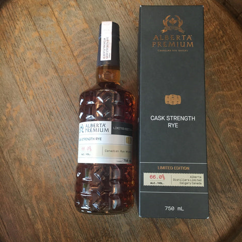 Alberta Premium Cask Strength Limited Edition Canadian Rye Whisky