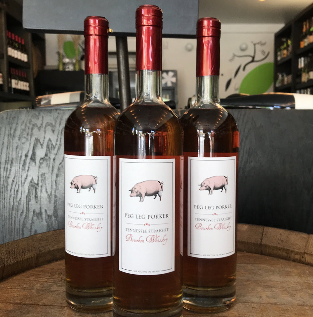 Peg Leg Porker NAS Tennessee Straight Bourbon Whiskey | De Wine Spot - Curated Whiskey, Small-Batch Wines and Sakes