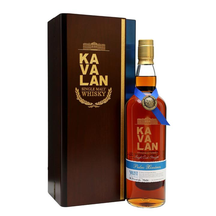 Kavalan Solist PX Sherry Single Cask Strength Single Malt Whisky | De Wine Spot - Curated Whiskey, Small-Batch Wines and Sakes