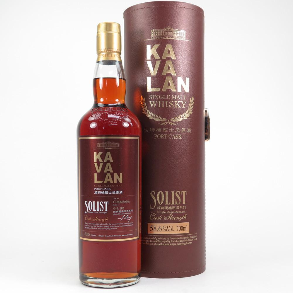 Kavalan Solist Port Single Cask Strength Single Malt Whisky | De Wine Spot - Curated Whiskey, Small-Batch Wines and Sakes