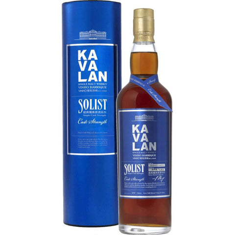 Kavalan Solist Vinho Barrique Single Cask Strength Single Malt Whisky - De Wine Spot | Curated Whiskey, Small-Batch Wines and Sakes