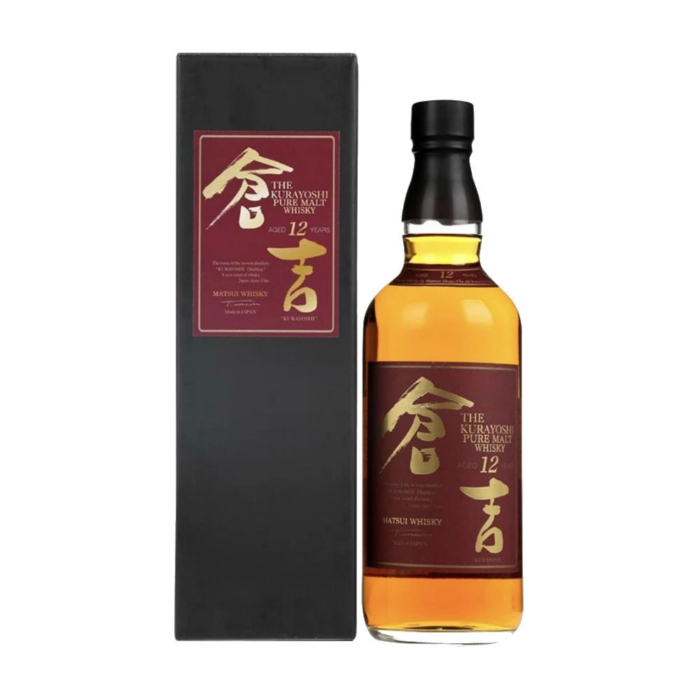 Kurayoshi Pure Malt 12 Year Old Whisky - De Wine Spot | Curated Whiskey, Small-Batch Wines and Sakes