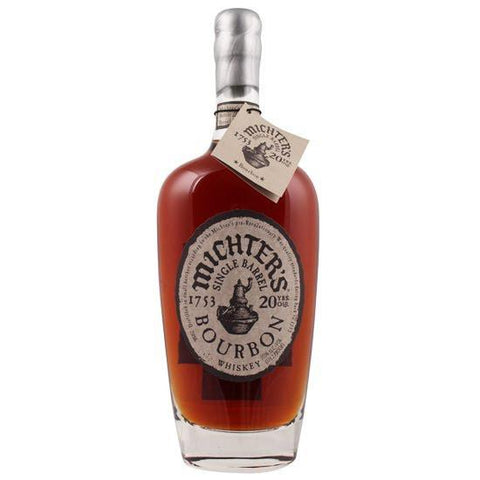 Michter's 20 Year Old Single Barrel Kentucky Straight Bourbon Whiskey - De Wine Spot | Curated Whiskey, Small-Batch Wines and Sakes