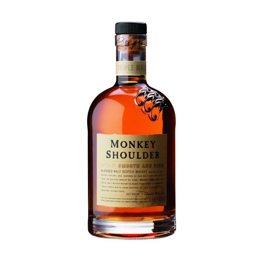 Monkey Shoulder Blended Scotch Whisky | De Wine Spot - Curated Whiskey, Small-Batch Wines and Sakes